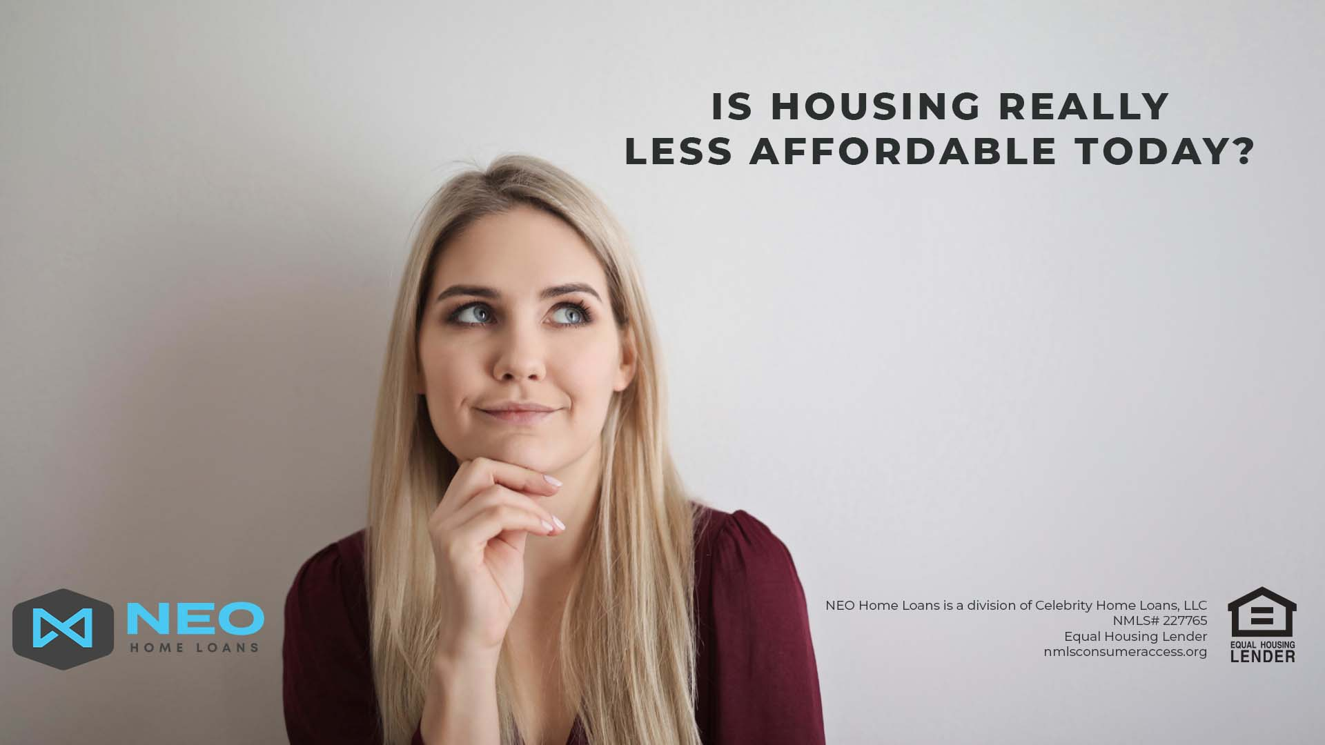 Is Housing Really Less Affordable Today?