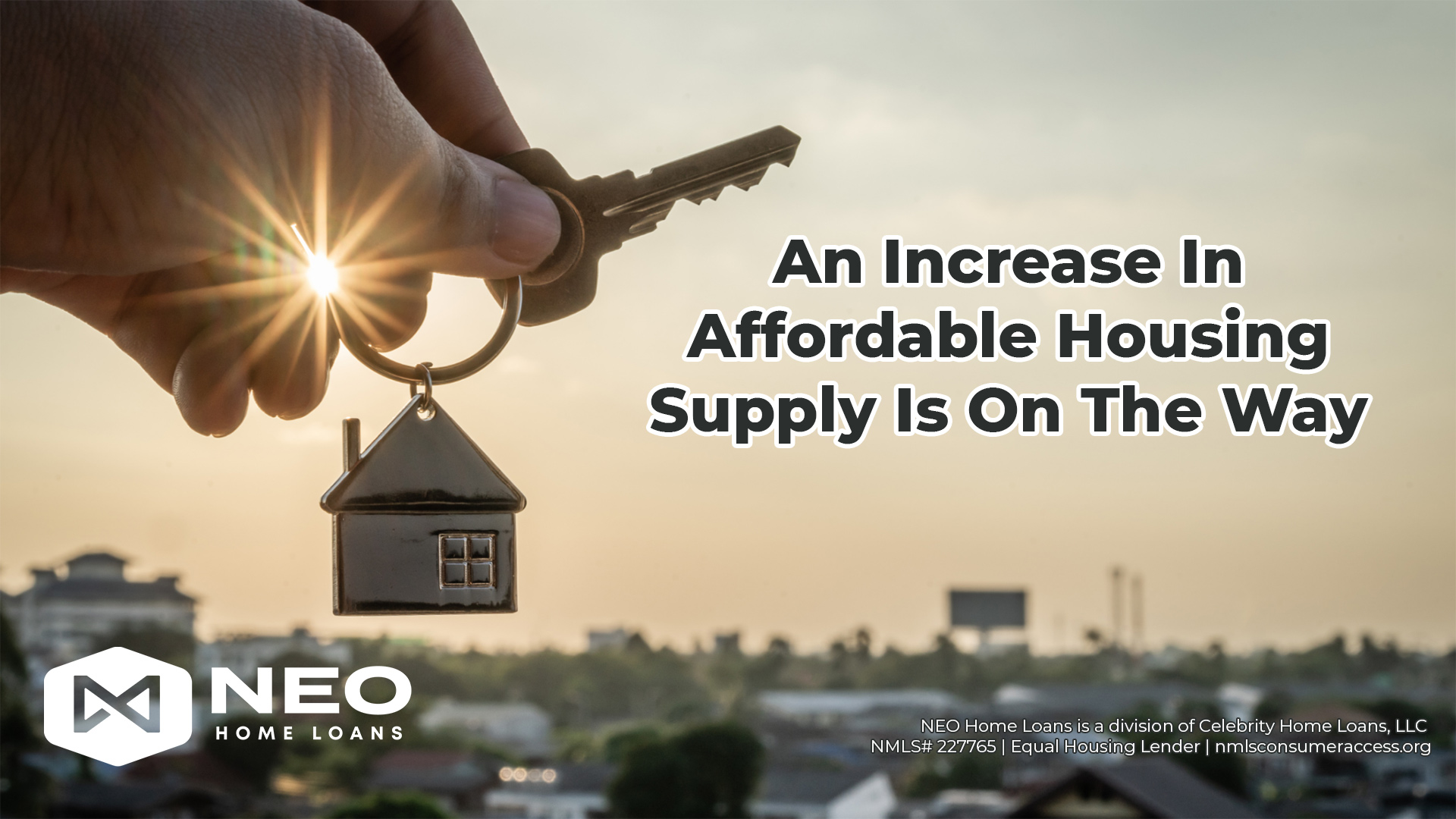 An Increase In Affordable Housing Supply Is On The Way